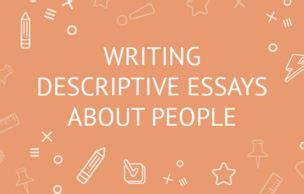 Descriptive essay about pictures